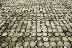 πεζοδρόμιο τούβλου Στοκ φωτογραφία με δικαίωμα ελεύθερης χρήσης