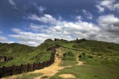 Πεζοπορία μια ηλιόλουστη ημέρα σε WANG εσείς κοιλάδα, Ταϊβάν στοκ εικόνες με δικαίωμα ελεύθερης χρήσης