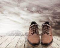 πεζοπορία μποτών Στοκ φωτογραφία με δικαίωμα ελεύθερης χρήσης
