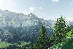 Πεζοπορία πανδοχείο--πανδοχείων Appenzell Στοκ εικόνα με δικαίωμα ελεύθερης χρήσης