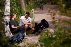 πεζοπορία σπασιμάτων Στοκ εικόνες με δικαίωμα ελεύθερης χρήσης