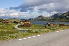 Πεζοπορία στη Νορβηγία Στοκ Φωτογραφία
