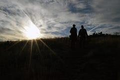 Πεζοπορία στη φωλιά ληστών Στοκ Εικόνα