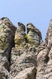 Πεζοπορία στο κρατικό πάρκο Custer, νότια Ντακότα στοκ εικόνα