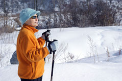 Πεζοπορία Στοκ εικόνες με δικαίωμα ελεύθερης χρήσης