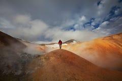 πεζοπορώ Ισλανδία στοκ φωτογραφίες με δικαίωμα ελεύθερης χρήσης