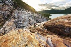 πεζοπορώ Νορβηγία στοκ φωτογραφίες με δικαίωμα ελεύθερης χρήσης
