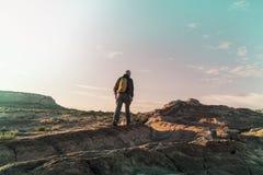 Πεζοπορώ στη Γιούτα Στοκ φωτογραφία με δικαίωμα ελεύθερης χρήσης