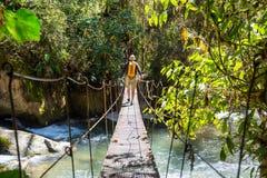 Πεζοπορώ στη Κόστα Ρίκα Στοκ Εικόνες