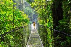 Πεζοπορώ στη Κόστα Ρίκα στοκ φωτογραφία