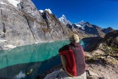 Πεζοπορώ στο Περού στοκ φωτογραφίες