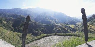 Πεζούλια ρυζιού Banaue Στοκ εικόνες με δικαίωμα ελεύθερης χρήσης