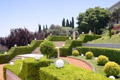 πεζούλια του Ισραήλ κήπω& στοκ εικόνες με δικαίωμα ελεύθερης χρήσης