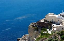 Πεζούλια Santorini Στοκ φωτογραφίες με δικαίωμα ελεύθερης χρήσης