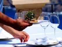 πεζούλι γευμάτων Στοκ φωτογραφία με δικαίωμα ελεύθερης χρήσης