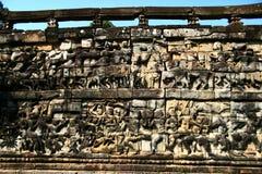 πεζούλι ελεφάντων angkor Στοκ εικόνες με δικαίωμα ελεύθερης χρήσης