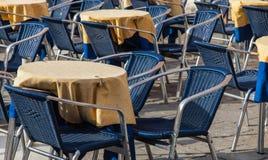 Πεζούλι εστιατορίων Στοκ εικόνες με δικαίωμα ελεύθερης χρήσης
