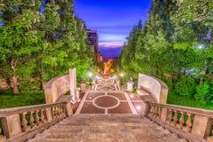Πεζούλι μνημείων του Lynchburg, Βιρτζίνια, ΗΠΑ Στοκ φωτογραφία με δικαίωμα ελεύθερης χρήσης
