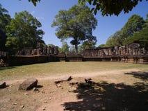 Πεζούλι των ελεφάντων, Angkor Thom Στοκ εικόνα με δικαίωμα ελεύθερης χρήσης