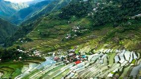Πεζούλια ρυζιού Banaue, Φιλιππίνες Στοκ φωτογραφία με δικαίωμα ελεύθερης χρήσης