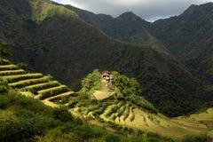 Πεζούλια ρυζιού Banaue, Φιλιππίνες Στοκ Εικόνες