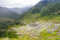 Πεζούλια Φιλιππίνες ρυζιού Batad στοκ εικόνες με δικαίωμα ελεύθερης χρήσης