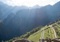 Πεζούλια Picchu Machu Στοκ φωτογραφίες με δικαίωμα ελεύθερης χρήσης