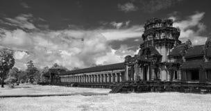 Πεζούλια Wat Angkor Στοκ φωτογραφία με δικαίωμα ελεύθερης χρήσης