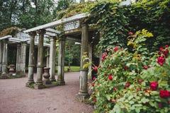 Πεζούλι γρανίτη στο πάρκο 1063 της Catherine Στοκ Εικόνες