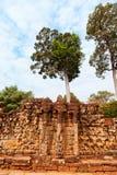 Πεζούλι ελεφάντων, Ankgor Thom, Καμπότζη Στοκ Φωτογραφία