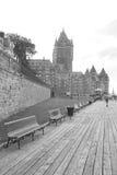 Πεζούλι και πύργος Frontenac Dufferin Στοκ φωτογραφία με δικαίωμα ελεύθερης χρήσης