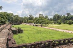 Πεζούλι των ελεφάντων, Angkor Wat, Καμπότζη Στοκ Φωτογραφία