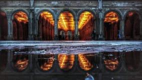 Πεζούλι Bethesda στο Central Park Στοκ εικόνα με δικαίωμα ελεύθερης χρήσης