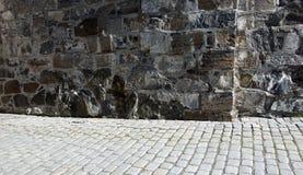 Πεζοδρόμιο και κατασκευή Στοκ Εικόνα