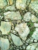 Πεζοδρόμιο που γίνεται από τους βράχους Στοκ Εικόνα
