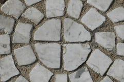 Πεζοδρόμιο του λευκού Στοκ φωτογραφία με δικαίωμα ελεύθερης χρήσης