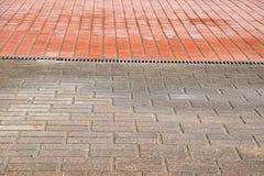 πεζοδρόμιο υγρό Στοκ εικόνες με δικαίωμα ελεύθερης χρήσης