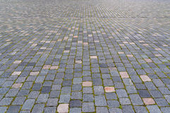 Πεζοδρόμιο Cobbled Στοκ Εικόνες
