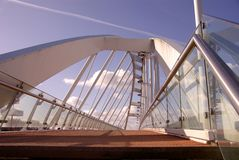 πεζός γεφυρών Στοκ φωτογραφίες με δικαίωμα ελεύθερης χρήσης