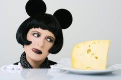 πεινασμένο ποντίκι Στοκ Εικόνα
