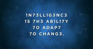 Πειρακτήριο εγκεφάλου αποσπάσματος νοημοσύνης απόθεμα βίντεο