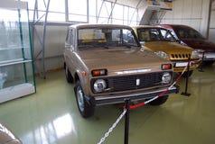 Πειραματικά αυτοκίνητα στο τεχνικό μουσείο AVTOVAZ Πόλη Togliatti Περιοχή της Samara Στοκ Εικόνα