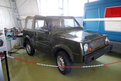 Πειραματικά αυτοκίνητα στο τεχνικό μουσείο AVTOVAZ Πόλη Togliatti Περιοχή της Samara Στοκ Εικόνες