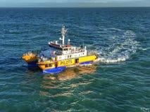 Πειραματική βάρκα εν εξελίξει στοκ εικόνες