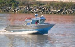 Πειραματική βάρκα στη δυτική ακτή του Καναδά στοκ φωτογραφία με δικαίωμα ελεύθερης χρήσης