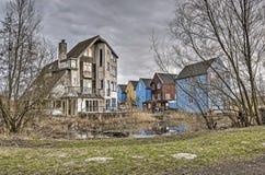 Πειραματική κατοικία στις Κάτω Χώρες στοκ φωτογραφίες με δικαίωμα ελεύθερης χρήσης