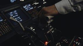 Πειραματικός προετοιμάστε το αστικό αεροπλάνο για να πετάξετε απόθεμα βίντεο