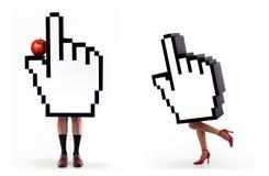 πειρασμός σειράς χεριών δ&rh Στοκ φωτογραφία με δικαίωμα ελεύθερης χρήσης