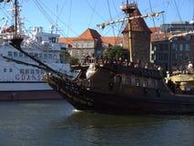 """Πειρατές σε GdaÅ """"SK! Στοκ εικόνες με δικαίωμα ελεύθερης χρήσης"""