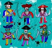 Πειρατές Στοκ εικόνα με δικαίωμα ελεύθερης χρήσης